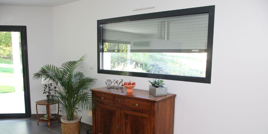 maison avec fenetre gris anthracite amazing fenetre pvc couleur gris anthracite luxe meilleur. Black Bedroom Furniture Sets. Home Design Ideas